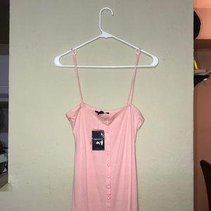 Pink Midi Dress - Forever 21